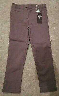 BNWT Next Girls school trousers age 6