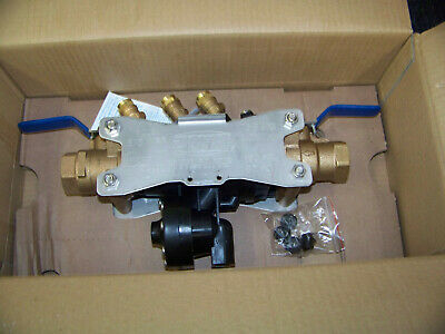 "Zurn Wilkins Reduced Pressure Principle Assembly 1"" 175PSIG Backflow Preventer"