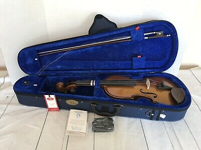 The Stentor Student I Violin Outfit 1400 with Strap Case Bow Pre-Owned 1029479