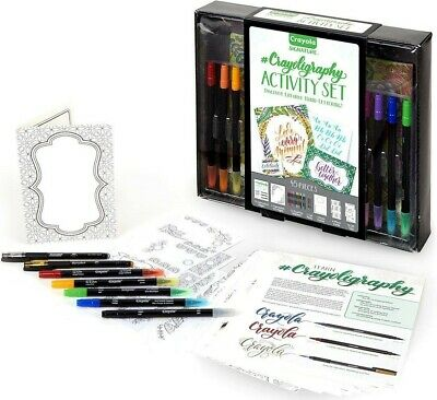 Calligraphy, #Crayoligraphy Activity Set by Crayola Signature New
