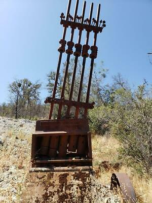 """Live Oak And Governor Mine, Gold Mining Claim, Mariposa County, Ca """"Stamp Mill"""""""