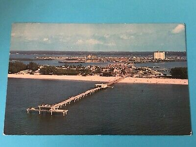 Aerial view of Big Pier 60 and Clearwater Beach, FL. (FL-63)
