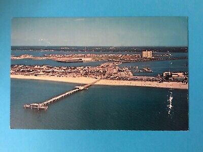 Aerial view of Big Pier 60 and Clearwater Beach, FL. (FL-64)