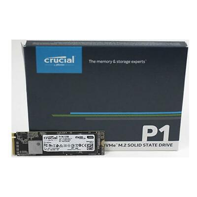 Crucial P1 1Tb M2 Nvme Pcie Ssd 3D Nand 1700Mbs True Image Cloning