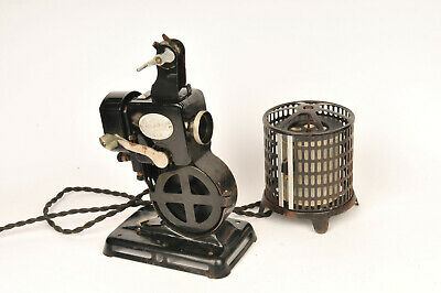 Vintage Pathescope Kid 9.5mm Hand Cranked Cine Projector with Transformer