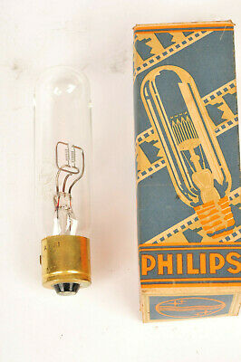 Vintage Philips 110v / 200w Typ 6132 C Projector bulb for Pathe Etc. Boxed
