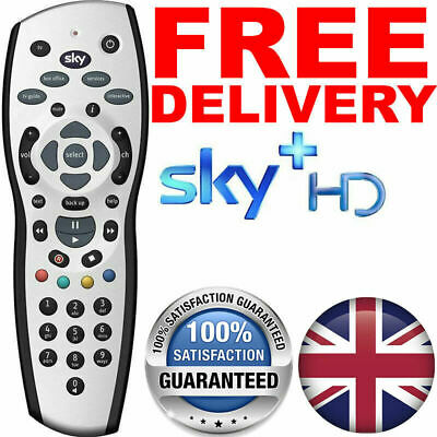 SKY+ PLUS HD REV 9 TV Replacement Remote Control + FREE & 2019 New