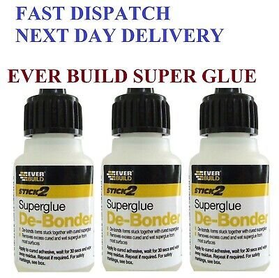 Super Glue DeBonder Remover SuperGlue Removal Cleaner Large 20ml Bottle NEW