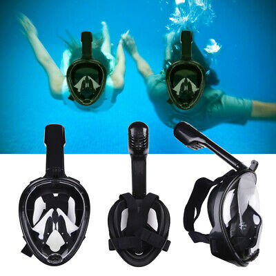 Full Face Snorkel Mask Scuba Diving Swimming Easy Breath Underwater Anti Fog US