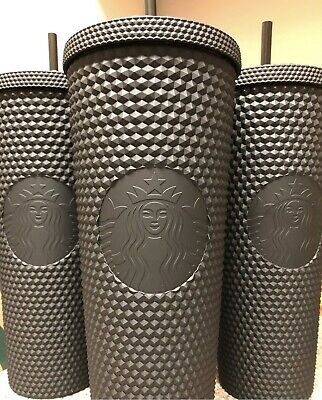 Sold Out New Fall 2019 Starbucks Matte Black Studded Tumbler Limited Edition!