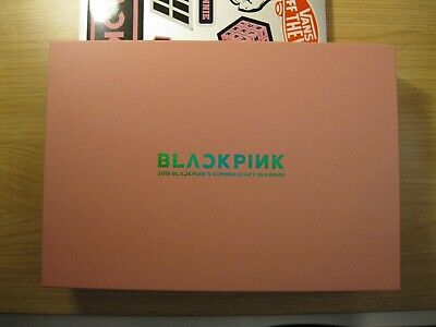 BLACKPINK 2019 BLACKPINK'S SUMMER DIARY IN HAWAII *(no Photocards No Postcards)*