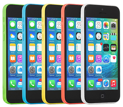 Apple iPhone 5C 8GB 16GB 32GB - Factory Unlocked - AT&T - Sprint