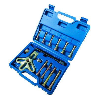 13 pc Universal Harmonic Balancer//Pulley//Damper /& Gear Puller Tool With Case