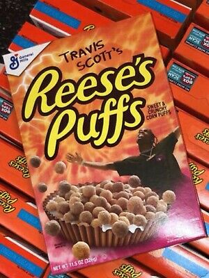 Travis Scott x Reese's Puffs Cereal - Look Mom I Can Fly - RARE LIMITED