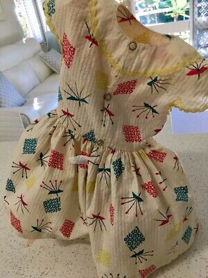 1950s  Tagged Pedigree Brighton Belle dress and shoes lovely condition