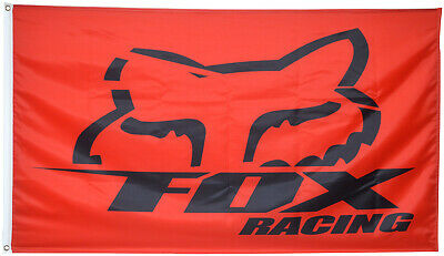 Fox Racing Flag Banner 3x5ft US seller