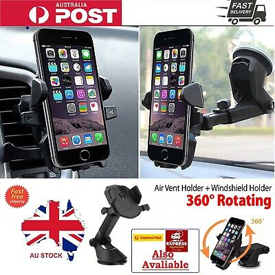 Adjustable 360 Universal Car Holder Windscreen Mobile Phone Bracket Stand Holder
