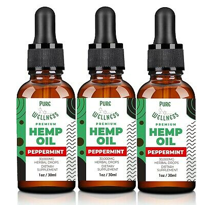 Organic Hemp Oil | Discover the Variety of Uses For Hemp Oil (5,000mg x3-Pack)