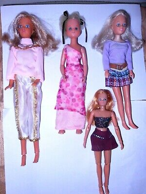 Mixed Lot of 6 Vintage Dolls - 1970's - all with issues