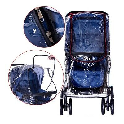 All-Round Protection Stroller Pushchair Zipper Rain Cover, Waterproof & Durable