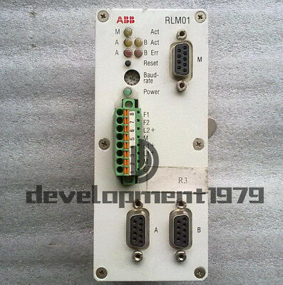 RLM01 3BDZ000398R1 Redundancy Link Module Used ABB