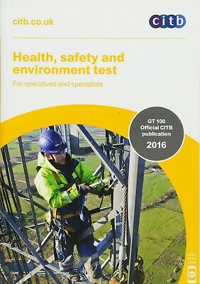 Health, Safety and Environment Test for Operatives and Specialists By Citb NEW