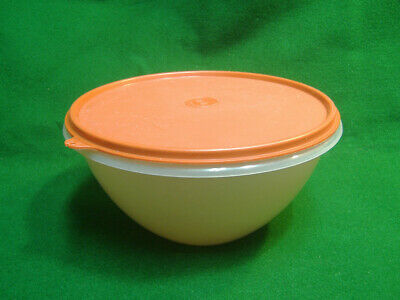 """Tupperware Translucent Clear 236-17 Wonderlier 8"""" Bowl No Lid Good Used Cond"""