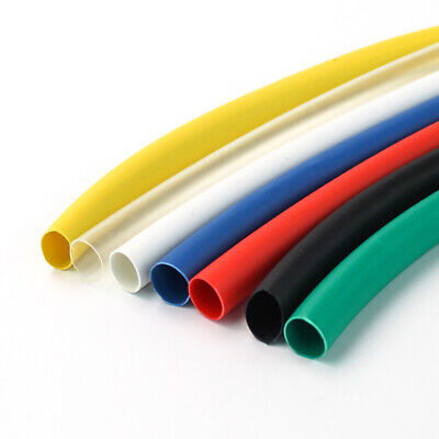 Dia 3.5mm Heat Shrink Tube 2:1 Polyolefin Cable Wire Tubing Sleeving All Colour