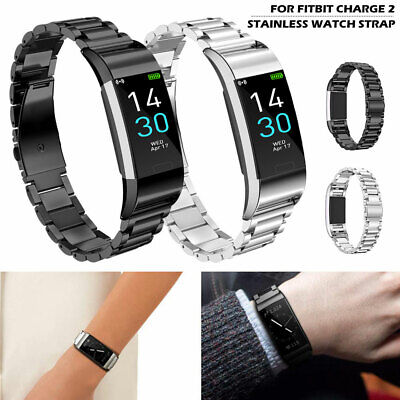 For Fitbit Charge 2 Stainless Steel watch Band Bracelet Strap Metal Wristband US