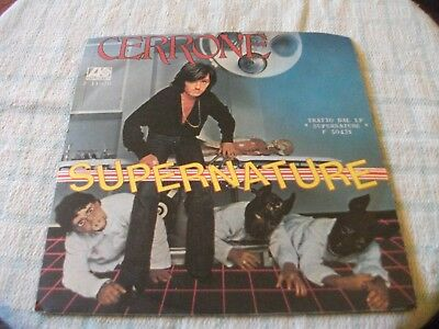 """Cerrone Supernature 7"""" Italy PS 1977 Great Overall Sound"""