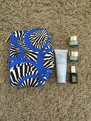 ESTEE LAUDER Gift Set Includes Make Up Bag and 4 Luxury Products NEW