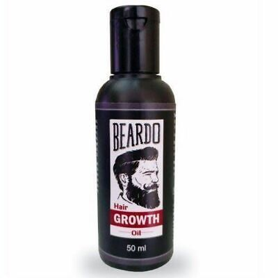 BEARDO Beard and Hair Growth Oil 50 ml free fast shipping from INDIA !!!