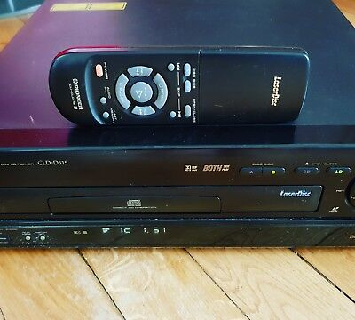 Pioneer CLD D 515 PAL/NTSC Laserdisc Player Remote Control LD CDV CD JOB LOT