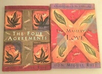 The Four Agreements + The Mastery of Love: A Practical Guide to the Art by Ruiz