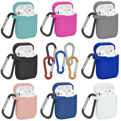Silicone Protective Sleeve Case Cover Skin for Airpod 1 / 2 EarPhone By FURZON