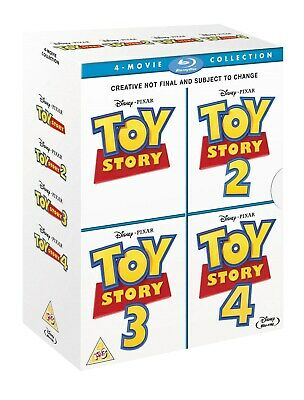 Toy Story: 4-movie Collection (Box Set) [Blu-ray] RELEASED 21/10/2019