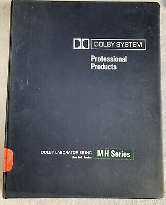 Dolby System MH series technical manual inc
