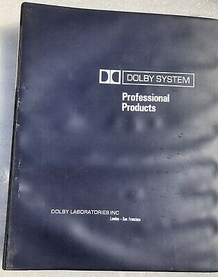 Dolby System Model 361 technical manual