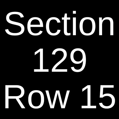 3 Tickets West Virginia Mountaineers vs. Iowa State Cyclones Football 10/12/19