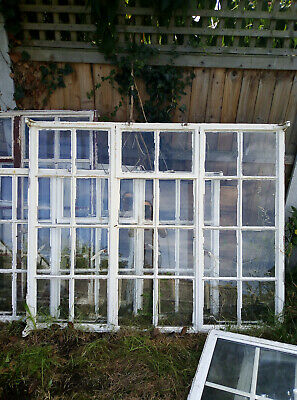 Four Antique Crittall Windows - Original windows from 1940's house in Essex