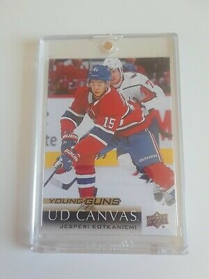 2018-19 Upper Deck Jesperi Kotkaniemi Young Guns Canvas #C223 Rc YG Canadiens