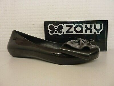 Zaxy Pop Seduce Bow Ladies Slip On Ballerina Scented Pumps
