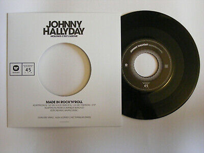 Johnny Hallyday - Mon Pays C'est l'Amour -45T-made in rock'n roll-Collector NEUF