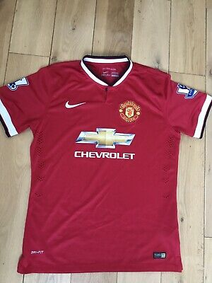 Official Nike Manchester United Football Shirt Player Edition XL