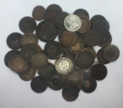Canada Penny Token Lot Coin Collection Culls (72 Pieces) (J13)