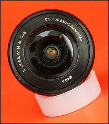 Sony 16-50MM F3.5-5.6 PZ / OSS SONY E MOUNT LENS Sold With Front & Rear Cap