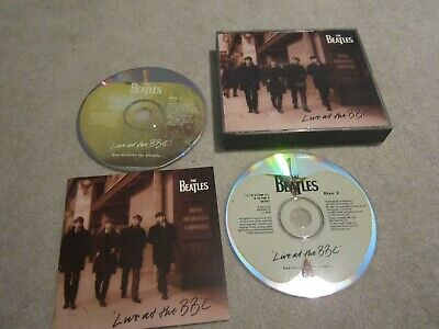 The Beatles CD, live at the bbc ,2 disc's and booklet