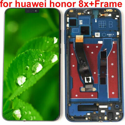 For Huawei Honor 8X Full LCD Display +Touch Screen Digitizer Assembly Frame AAA