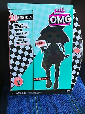"LOL SURPRISE! OMG 11"" Fashion Doll *NEONLICIOUS*  Series 1 IN HAND Brand NEW"