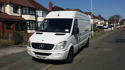 Mercedes Sprinter 2009 LWB WHITE bumpers LIMITED EDITION